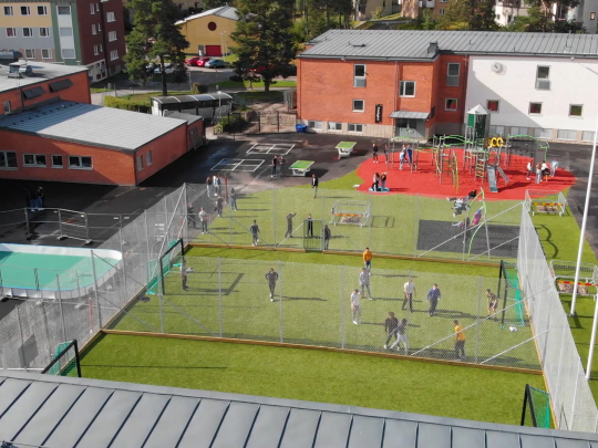 See here a view of some of our newly renovated features. IES Eskilstuna -  a transformation is underway!